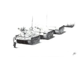 Tank Man by Weidenhof