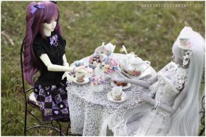 Tea party by sherimi