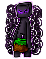 Endermangg by DreaTheRobot