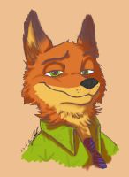 Nick Wilde by AlexsBabyBear
