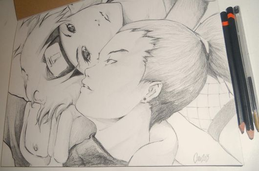 TEMARI AND SHIKAMARU by chrisdangerous