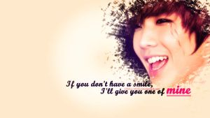 My Smile .. Wallpaper by XxMiss-MirxX