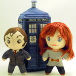 Donna Noble 3D Cross Stitch Doll by rhaben