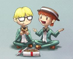 Mother 2: JeffTony by Pink-Shimmer