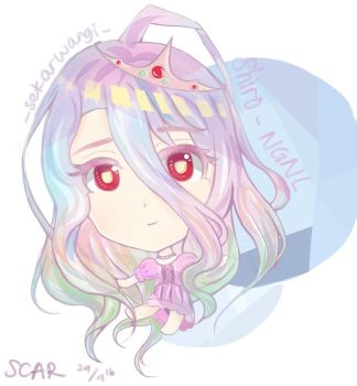 Shiro No game no life fanart by ScarredAce