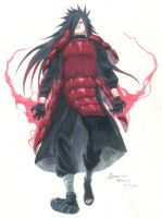 Come at Me Bro! Uchiha Madara by Nick-Ian