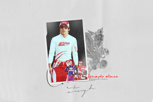 Fernando Alonso Wallpaper by randomflowers