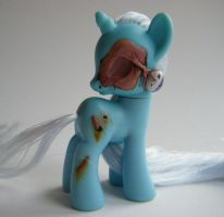 OOAK My Little Pony FiM G4 Zombie Trixie by eponyart