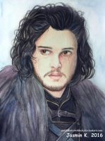 Jon Snow by UNTILitFADEStoBLACK