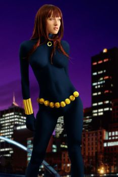 Marvel A-Z: The Black Widow by DaswookofHeromorph