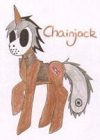 Chainjack for NightflareMoon by MLP-HatersGonnaHate