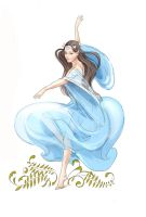 Luthien's dance by Ngaladel
