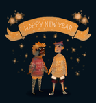 Happynewyeart by Jimmy-ilustra