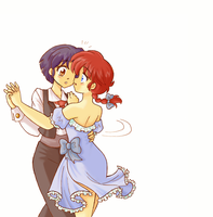 Ranma 1/2 _ Kiss the girl by Arwen-chan
