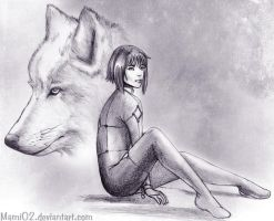 The Flower and the Wolf by Mami02