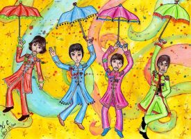 Come Together to Pepperland by Spongefifi