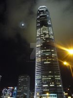 Hong Kong at Night by natscreative