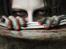 I'm Watching You 3-D conversion by MVRamsey