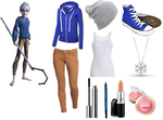 Jack Frost Inspired Outfit by RockerChic21