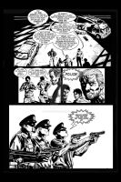 Hired Gun: FCBD page 6 by project4studios