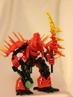 Bionicle MOC: Xplode Star by Rahiden