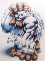 Sasquatch From Darkstalkers. by Zikness
