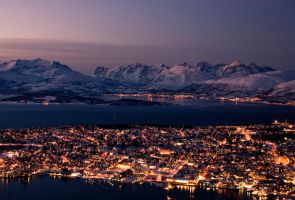 Norway Citylights by charley05