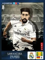 Samir Khedira by FLETCHER39