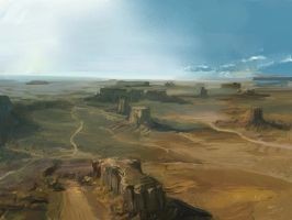 Landscape by XatYang