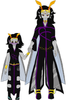 Fantrolls: The Volans Family by AquaArtist532