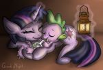 Good night by RainbowSpine