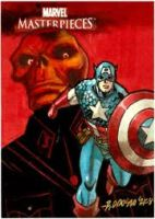 Cap MM08 AP Sketch Card by ryanorosco