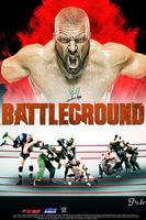 WWE Battleground 2014 Poster by JrbDesign