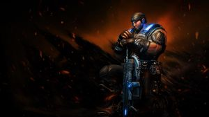 Fenix - Gears of War 3 by PhotoshopIsMyKung-Fu