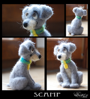 Scamp - felted wool by hecatehell