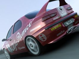 Alfa Romeo 156 GT in corsa by Farins