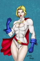 Power Girl - Coloring #4 by Donovan448