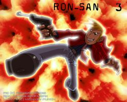 Ron San 3 by Lionheartcartoon