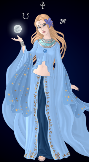 ::Selene::The Goddess of the Moon