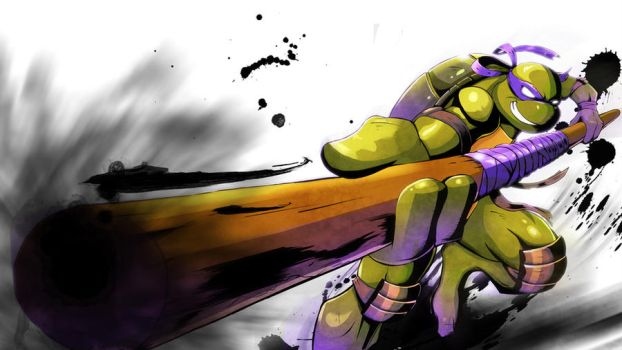 TMNT_DON by SchNe11