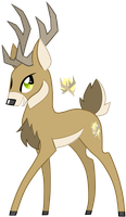 Deer by wingedwolf94