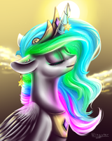 MLP - Princess Celestia by WingsterWin