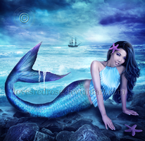 Mermaid-Musings by EnchantedWhispersArt