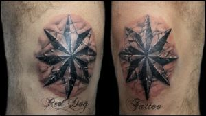 3D Stars by Reddogtattoo