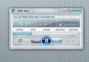 Winamp Full Blue Aero Skin by Tilev