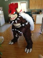 Giga Bowser Cosplay by ShizukaEthaussa