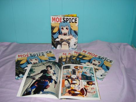 Moe Spice Volume 1 with sneak peak by RococoNeko