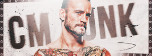 Cm PUNK sig ~ by HHHGFX