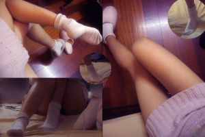 white socks by sowhatha
