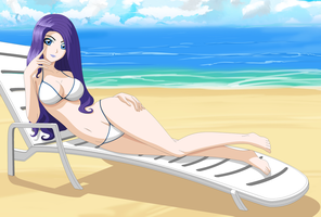 Rarity Summer Paradise by ZantyARZ
